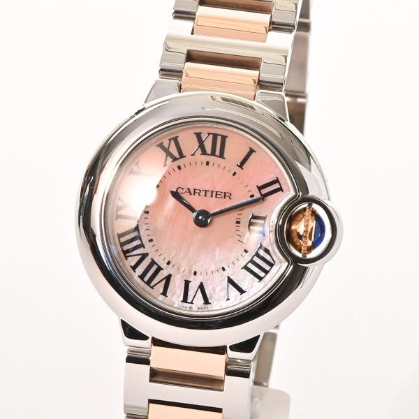 カルティエ Cartier バロンブルーSM W6920034 中古A品