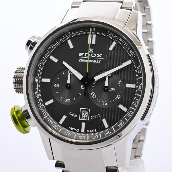 エドックス EDOX クロノラリー クロノグラフ 10302 中古A品
