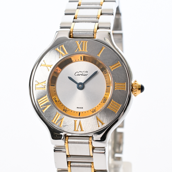カルティエ Cartier マスト21 W10073R6 中古A品