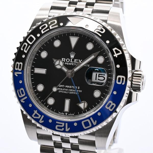 ロレックス ROLEX GMTマスター2 126710BLNR 未使用品