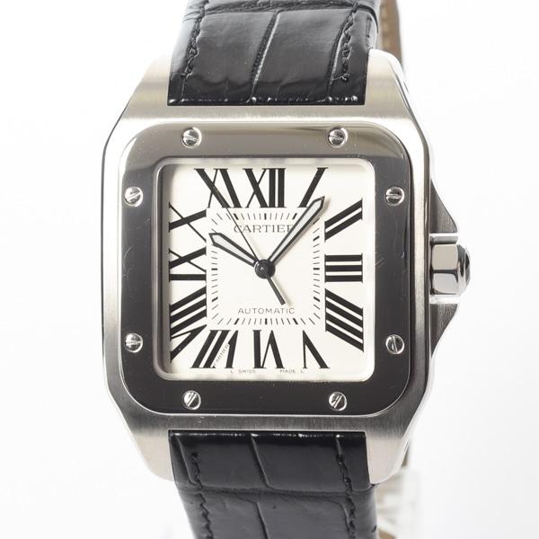 カルティエ Cartier サントス100LM W20073X8 中古A品
