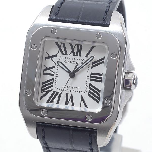 カルティエ Cartier サントス100MM W20106X8 中古A品