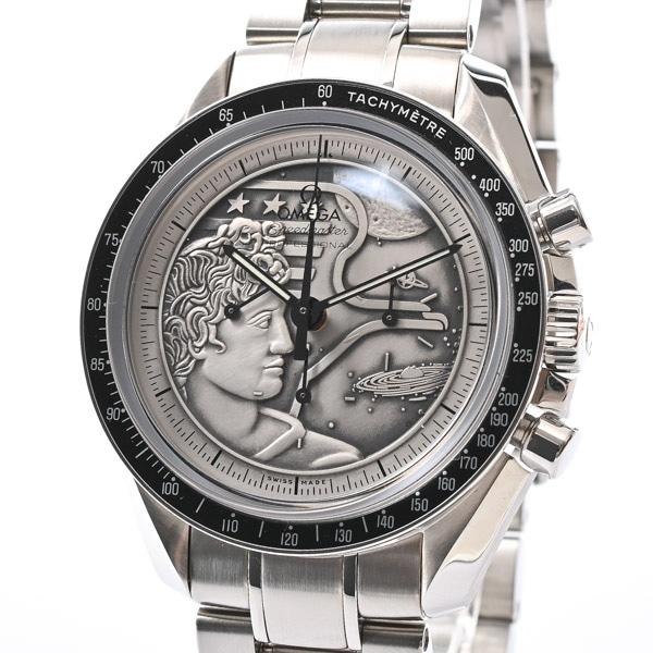オメガ OMEGA スピードマスター アポロ17号40周年記念 311.30.42.30.99.002 中古A品