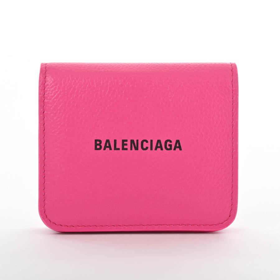 バレンシアガ BALENCIAGA 2つ折り式財布 594216 未使用品