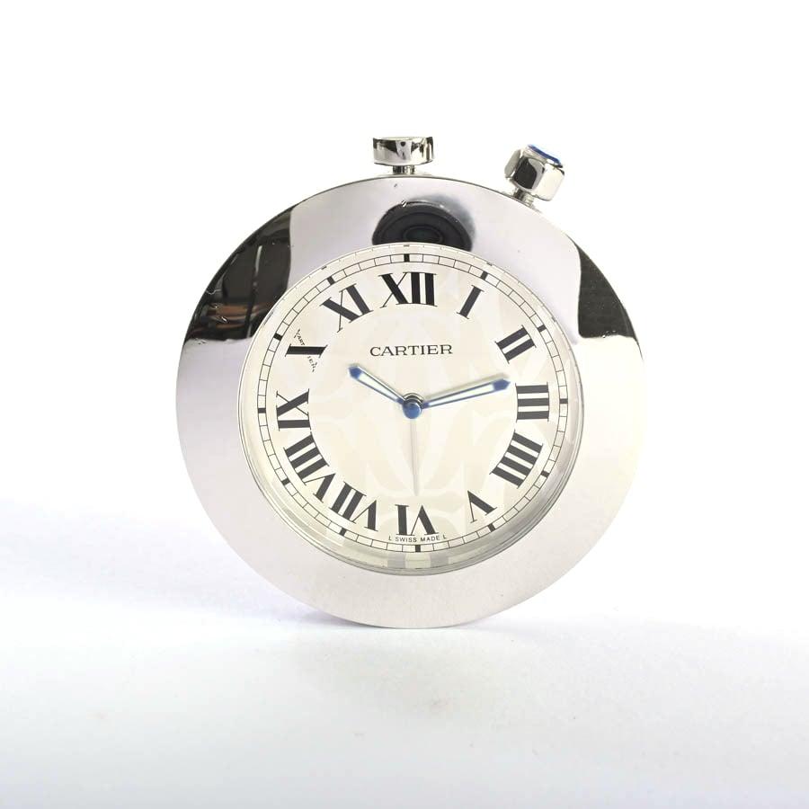 カルティエ Cartier トラベル アラームクロック 中古A品