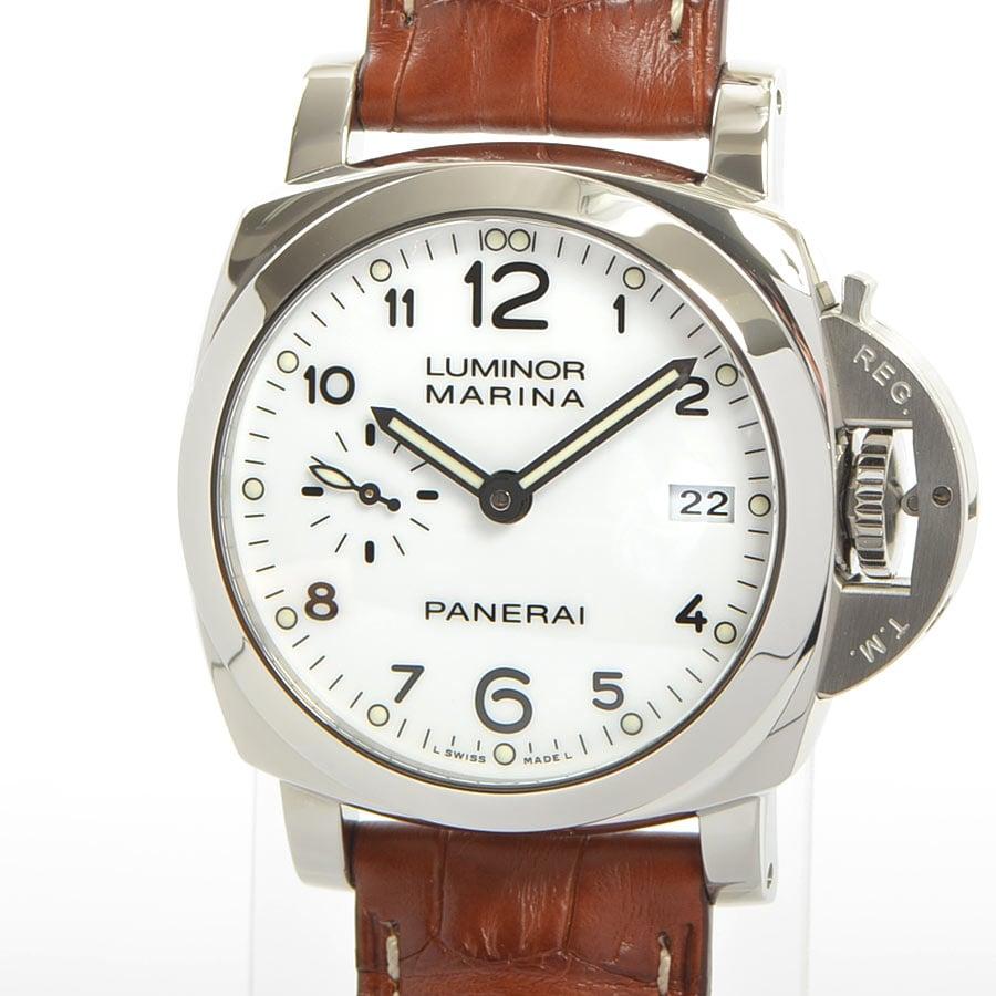 パネライ PANERAI ルミノール マリーナ 1950 スリーデイズ オートマティック アッチャイオ-42mm PAM00523 中古A品