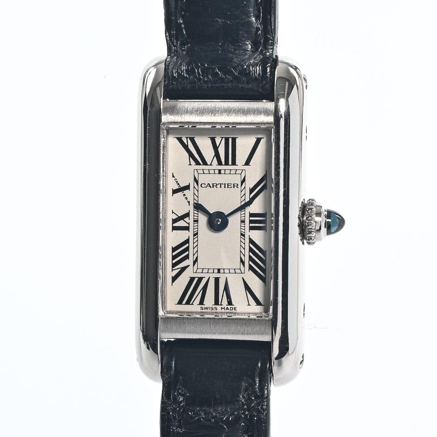 カルティエ Cartier タンクアロンジェ W1540856 中古A品