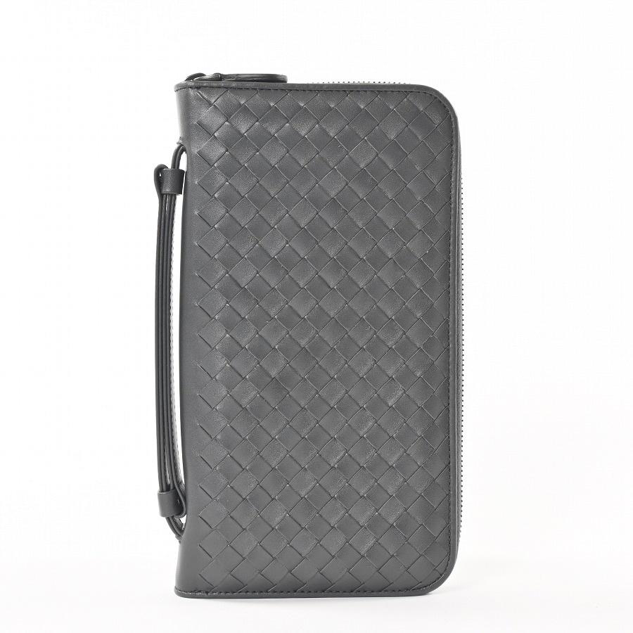 ボッテガヴェネタ BOTTEGA VENETA ラウンドファスナー式財布 169730 未使用品